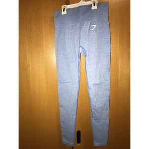Gymshark Vital Seamless Legging Blue Size XS
